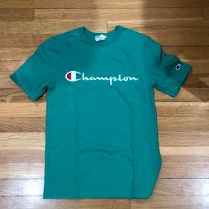 Green Champion Shirt (Only Worn Once)